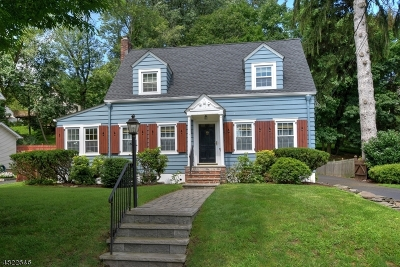 Morristown Town NJ Single Family Home For Sale: $445,000