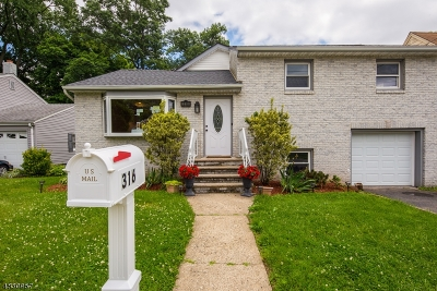 Nutley Twp. Single Family Home For Sale: 316 Bloomfield Ave