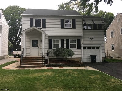 Nutley Twp. Single Family Home For Sale: 46 Nutley Ave