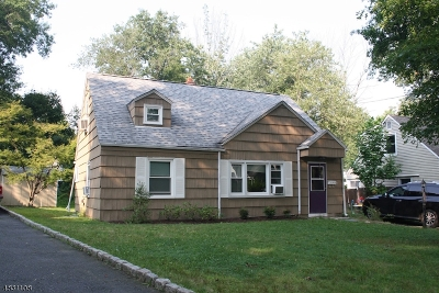 West Orange Twp. Single Family Home For Sale: 37 Nestro Rd