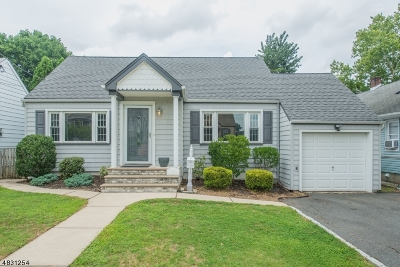 Nutley Twp. Single Family Home For Sale: 90 Columbia Ave