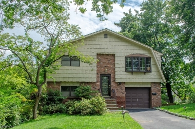 West Orange Twp. Single Family Home For Sale: 26 S Undercliff Ter