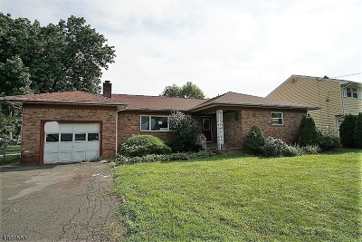 Scotch Plains Twp. Single Family Home For Sale: 329 Myrtle Ave