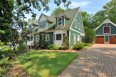 WATCHUNG Single Family Home For Sale: 21 Lakeview Ter