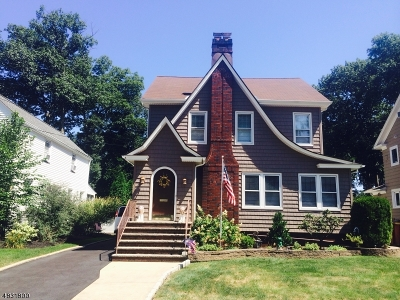 Cranford Twp. Single Family Home For Sale: 12 Herning Ave
