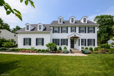 Chatham Twp. Single Family Home For Sale: 7 Whitman Dr