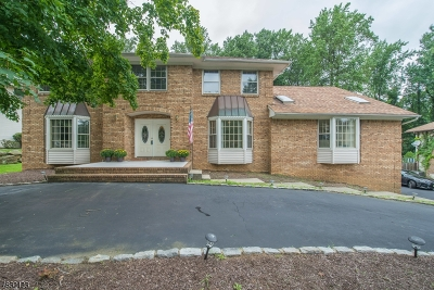Parsippany-Troy Hills Twp. Single Family Home For Sale: 86 S Powdermill Rd