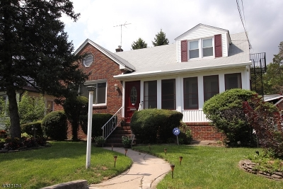 Hillside Twp. Single Family Home For Sale: 581 Chapman St