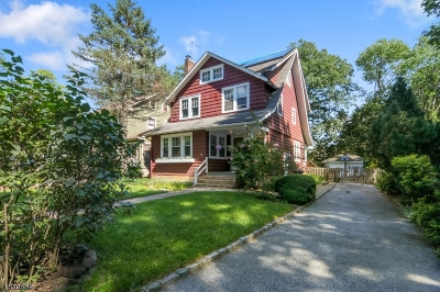 Montclair Twp. Single Family Home For Sale: 36 Bruce Rd