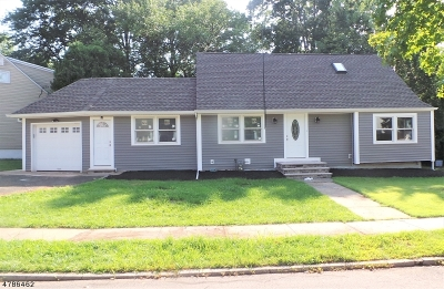 Roselle Boro Single Family Home For Sale: 124 Independence Dr