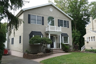 Fanwood Boro Single Family Home For Sale: 105 Midway Ave