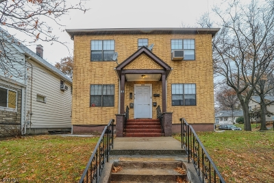 Rahway City Multi Family Home For Sale: 580 E Milton Ave