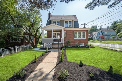 West Orange Twp. Single Family Home For Sale: 194 Gregory Pl