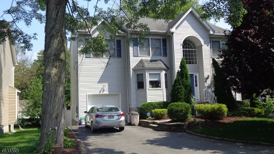 Parsippany-Troy Hills Twp. Single Family Home For Sale: 250 Marcella Rd