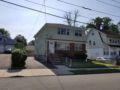 West Orange Twp. Multi Family Home For Sale: 106 Whittlesey Ave