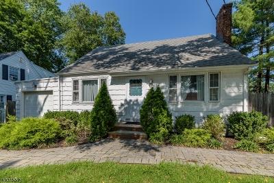Scotch Plains Twp. Single Family Home For Sale: 2435 Richelieu Pl