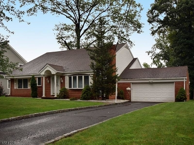 Mountainside Boro Single Family Home For Sale: 259 Old Tote Rd