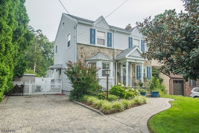 Nutley Twp. Single Family Home For Sale: 88 Satterthwaite Ave