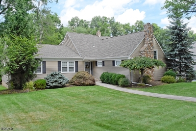 Parsippany-Troy Hills Twp. Single Family Home For Sale: 16 Normandy Drive