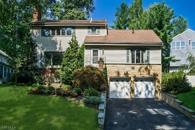 West Orange Twp. Single Family Home For Sale: 3 Undercliff Ter