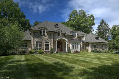 Mendham Boro, Mendham Twp. Single Family Home For Sale: 1 Corey Ln