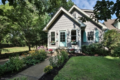 Montclair Twp. Single Family Home Active Under Contract: 10 Oakcroft Ave