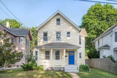 Boonton Town Single Family Home For Sale: 424 Holmes St