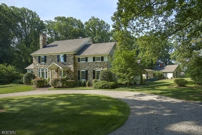 Bernardsville Boro Single Family Home For Sale: 122-3 Mendham Rd