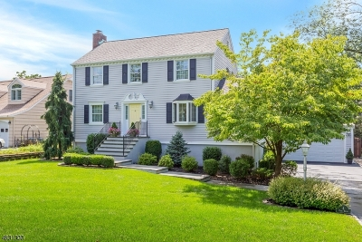 Cranford Twp. Single Family Home For Sale: 4 Park Dr