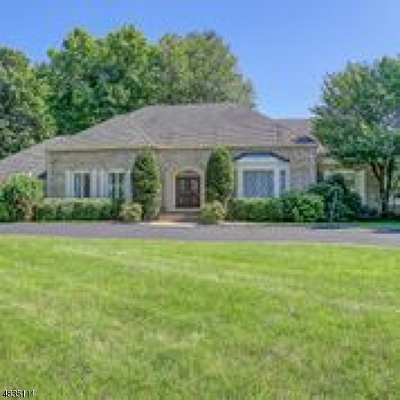 WATCHUNG Single Family Home For Sale: 20 Hyde Cir