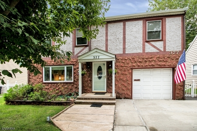 Cranford Twp. Single Family Home For Sale: 377 Walnut Ave