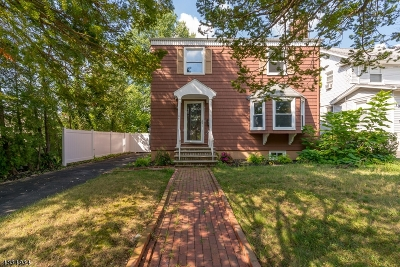 Maplewood Twp. Single Family Home For Sale: 104 Harvard Ave