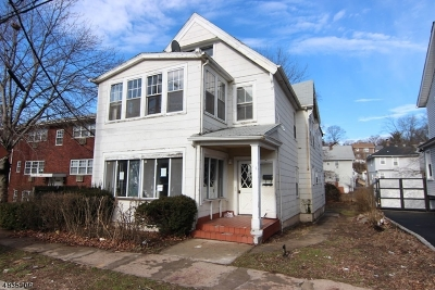 West Orange Twp. Multi Family Home For Sale: 17 S Valley Rd