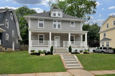 West Orange Twp. Single Family Home For Sale: 26 Overlook Ave