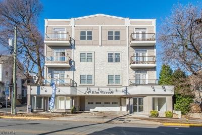Montclair Twp. Condo/Townhouse For Sale: 24 Elm St Unit 4c #4C