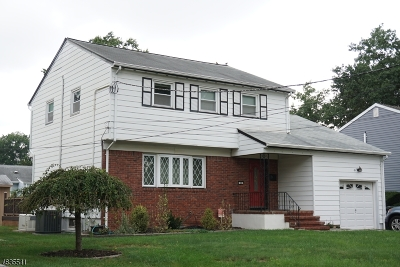 Clark Twp. Single Family Home For Sale: 42 Nassau St