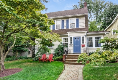 Maplewood Twp. Single Family Home For Sale: 38 Madison Ave