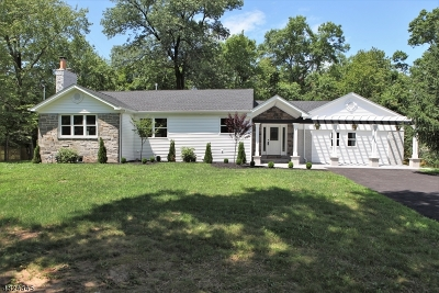 WATCHUNG Single Family Home For Sale: 897 Valley Rd