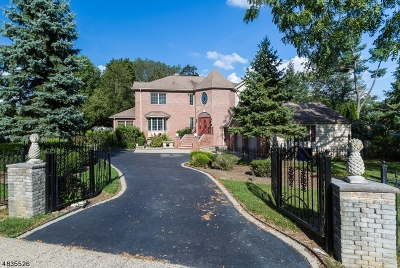 Parsippany-Troy Hills Twp. Single Family Home For Sale: 139 Reynolds Ave