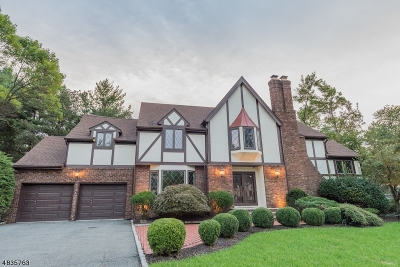 Parsippany-Troy Hills Twp. Single Family Home For Sale: 5 Cory Ct