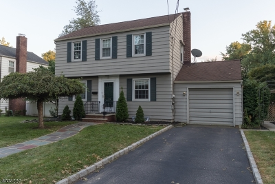 RAHWAY Single Family Home For Sale: 442 Orchard St