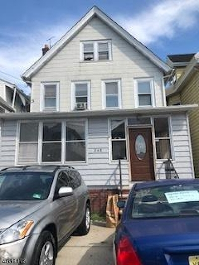 ELIZABETH Single Family Home For Sale: 248-250 Orchard St