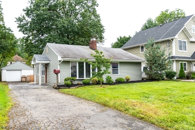 Woodbridge Twp. Single Family Home For Sale: 38 Summit Ave