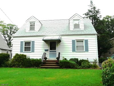 Union Twp. Single Family Home For Sale: 391 Ward St