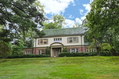 South Orange Village Twp. Single Family Home For Sale: 65 Wyoming Ave
