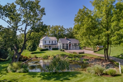 Mendham Boro, Mendham Twp. Single Family Home For Sale: 137 Hilltop Rd