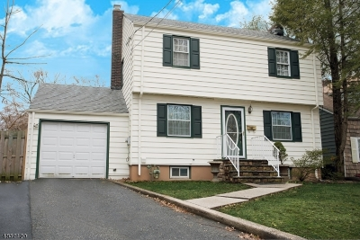 RAHWAY Single Family Home For Sale