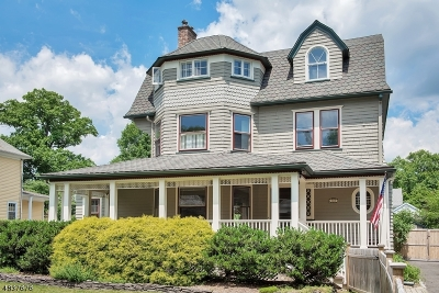 Montclair Twp. Single Family Home For Sale: 215 Inwood Ave