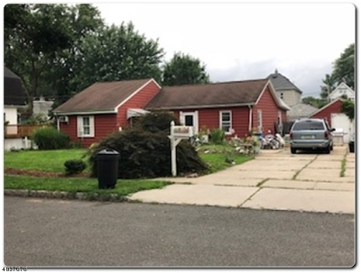 Roselle Park Boro Single Family Home For Sale: 532 Roosevelt St