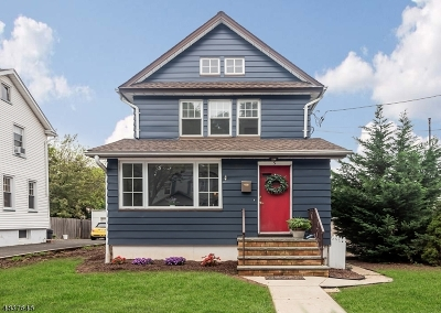Cranford Twp. Single Family Home For Sale: 5 Carpenter Pl
